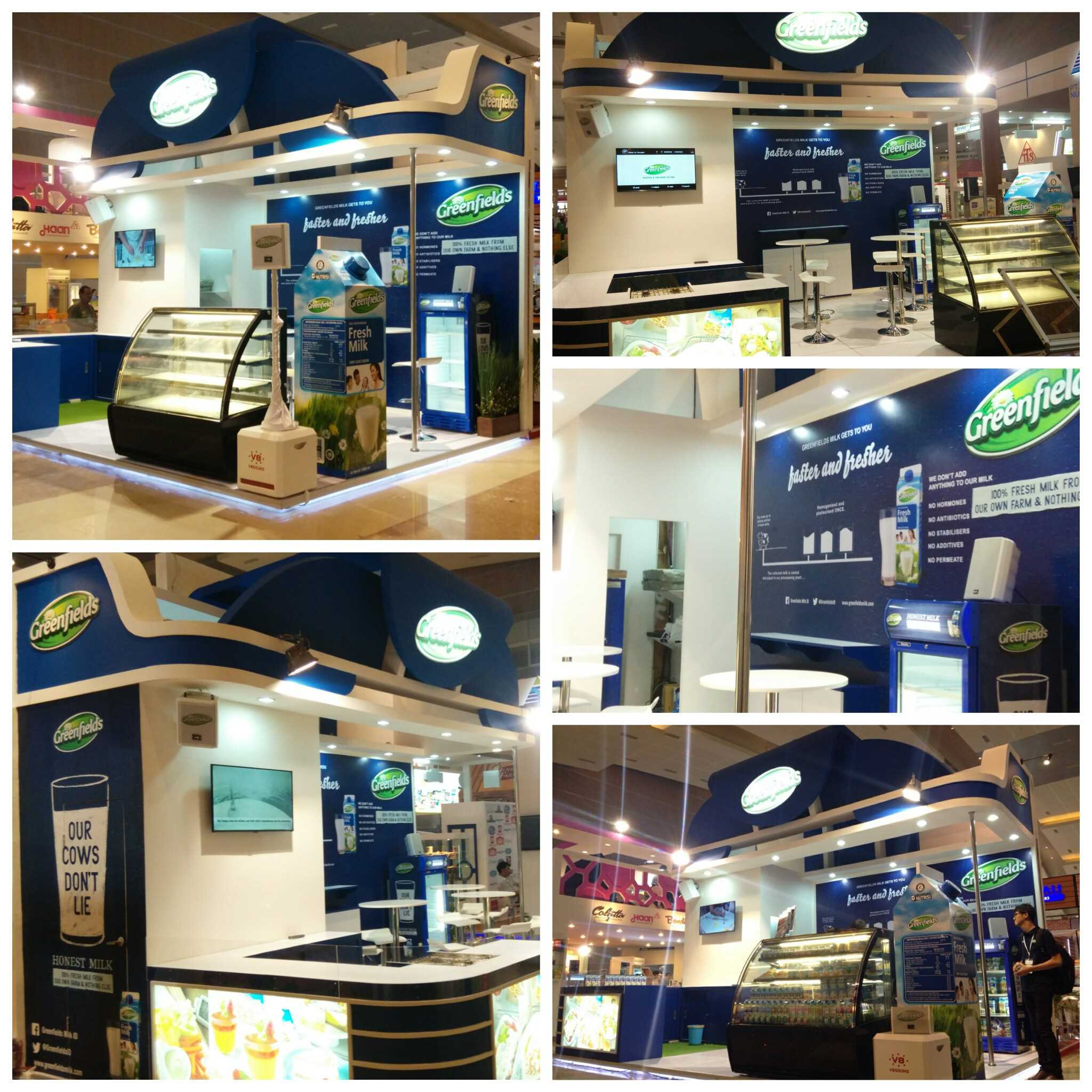 Greenfields Booth at Food and Hotel Indonesia