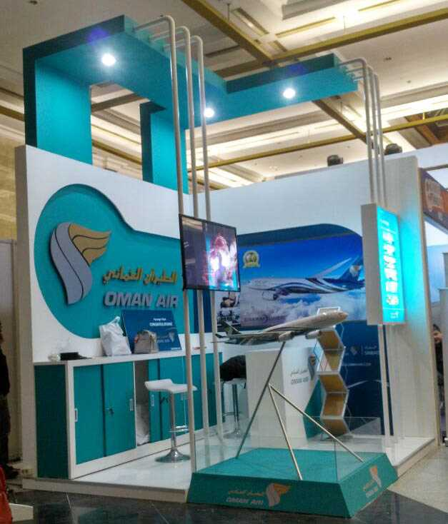 Exhibition Stand Builders Oman : Priority confex u oman air kompas travel fair