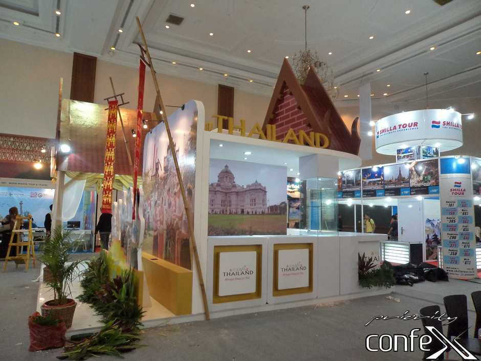Exhibition Stand Builders Thailand : Priority confex u booth thailand